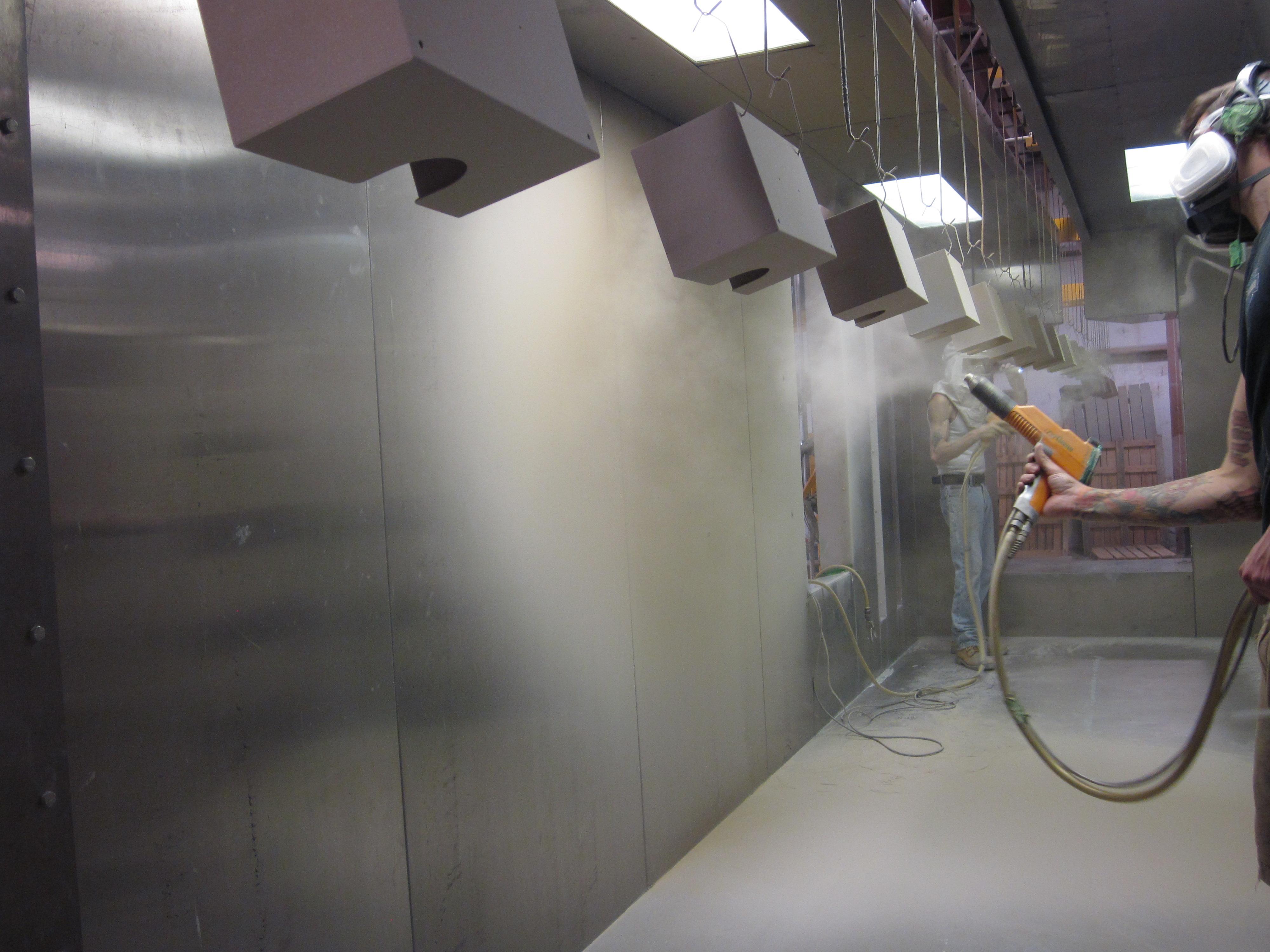 Powder Coating Electrostatic Powder Coatingconsolidated Coating